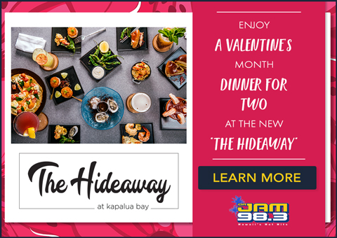 The Hideaway, for Valentine's Month