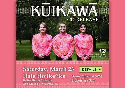 Kuikawa CD Release