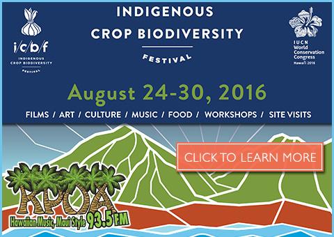 Indigenous Crop Event