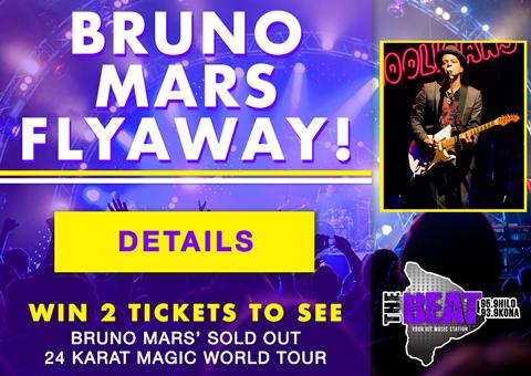 Bruno Mars Flyaway