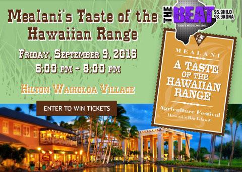 Taste of Hawaiian Range 2016