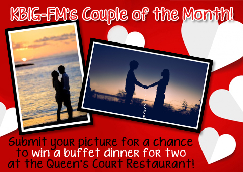 KBIG-FM's Couple of the Month!