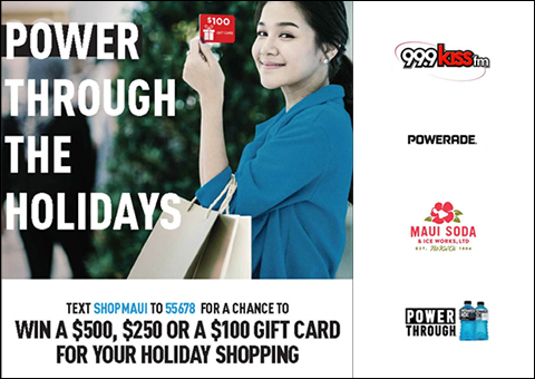 Maui Soda and Ice Works Power Through Holidays 2019